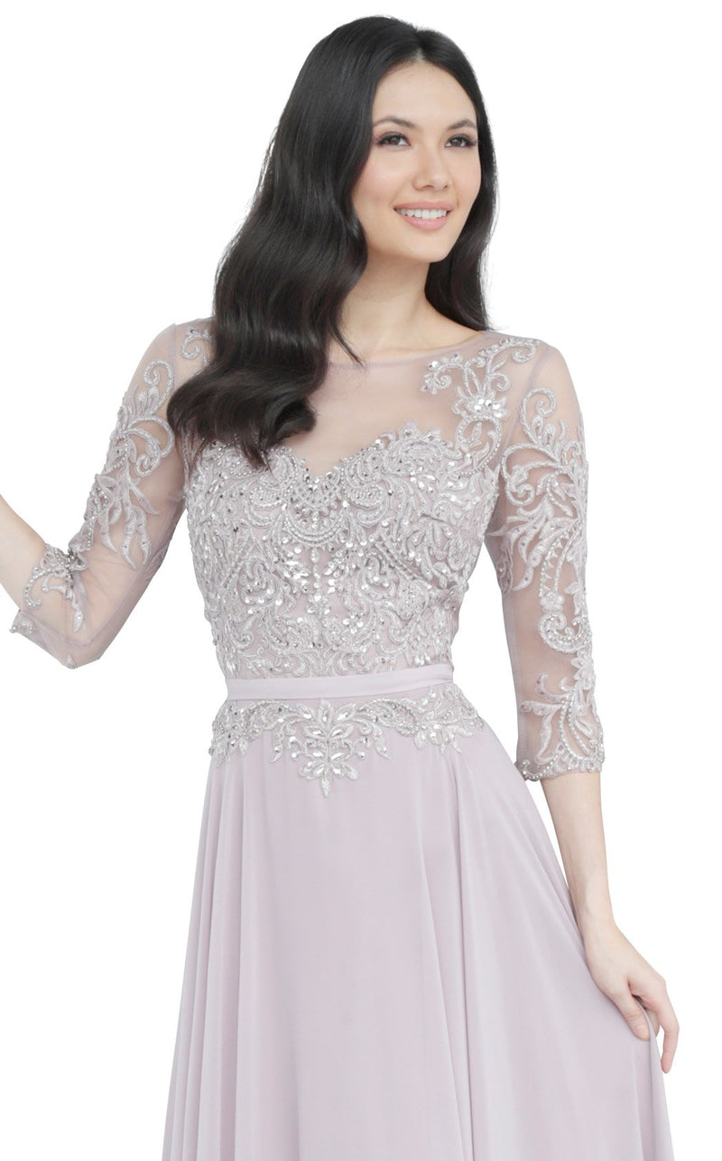 JVN JVN2167 Dress Mauve