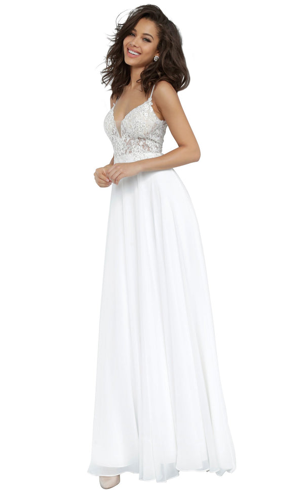 JVN JVN2390 Dress Off-White