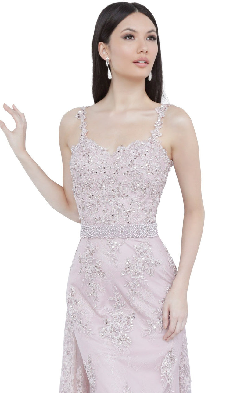 JVN JVN2444 Dress Dusty-Rose