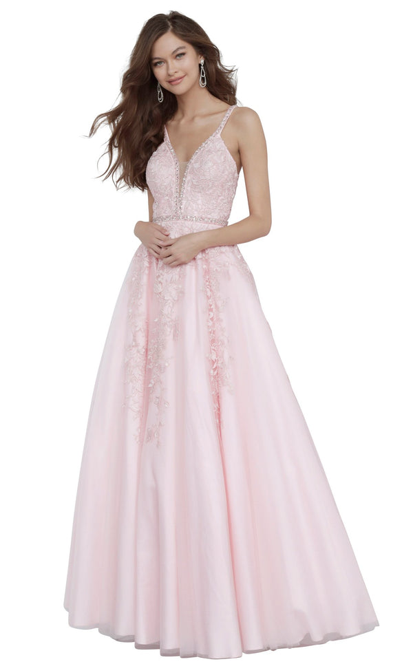 JVN JVN3388 Dress Light-Pink