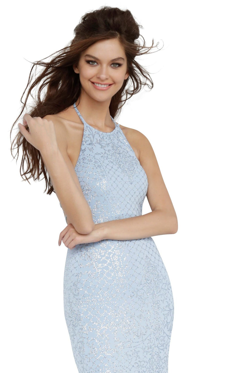 JVN JVN60137 Dress Light-Blue