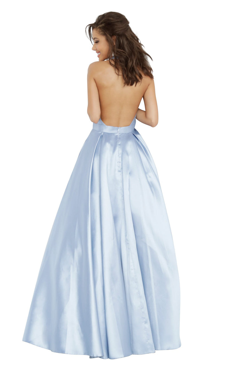 JVN JVN60772 Dress Light-Blue