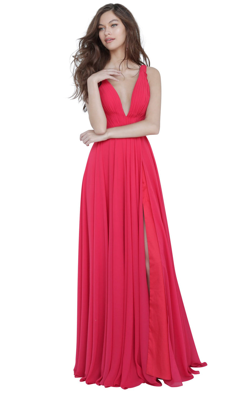 JVN JVN65014 Dress Red
