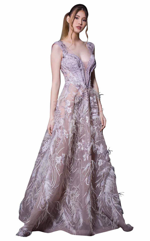 29b48c0d1 Evening Gowns With Feathers   Shop Formal & Prom Gowns