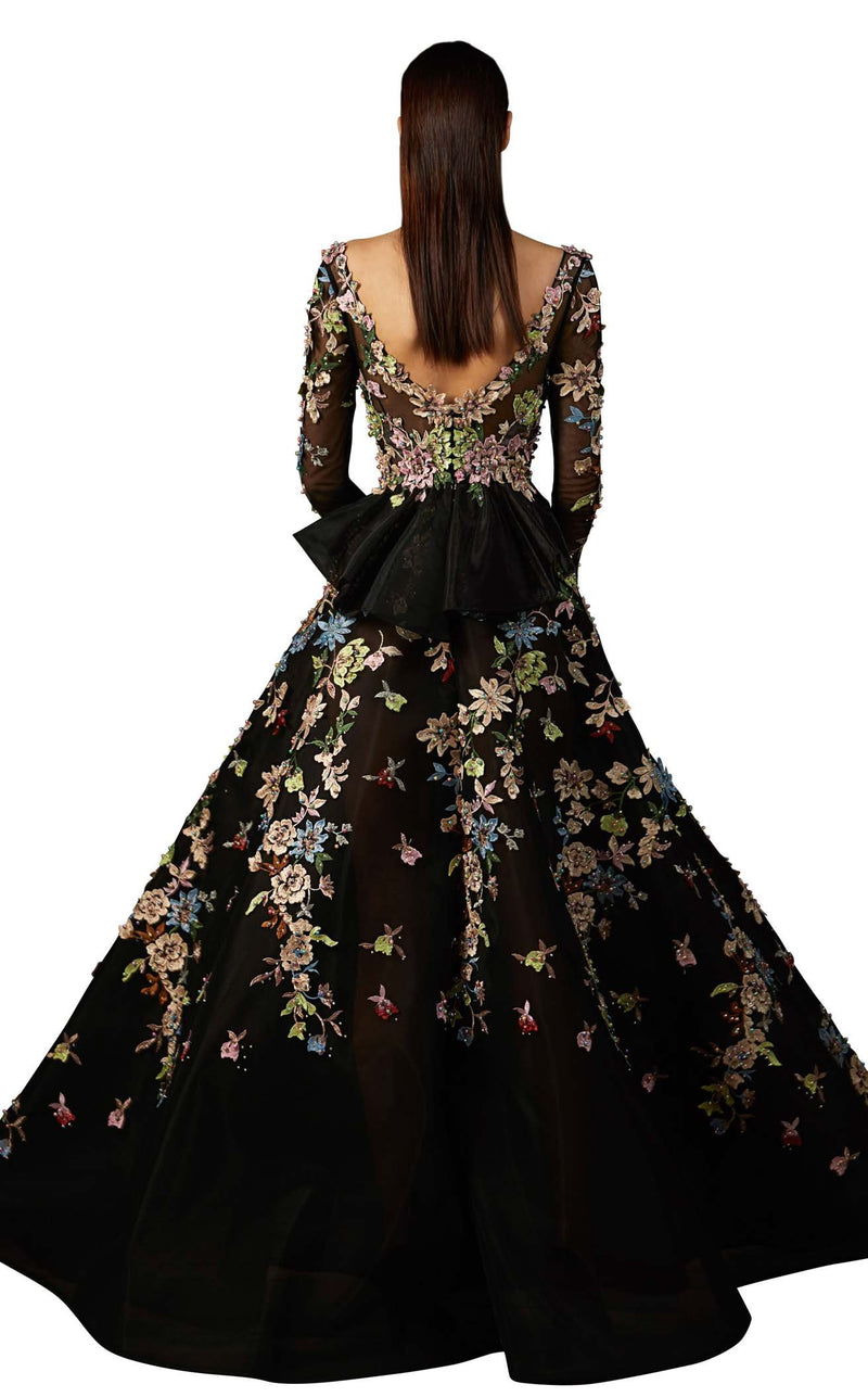 MNM Couture K3706 Black