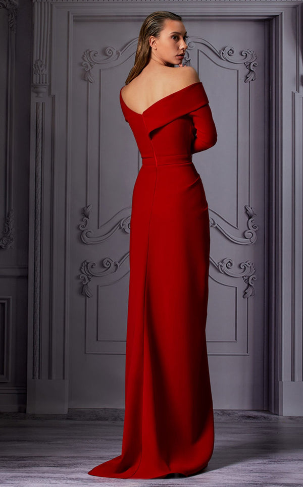 MNM Couture K3849 Dress Red