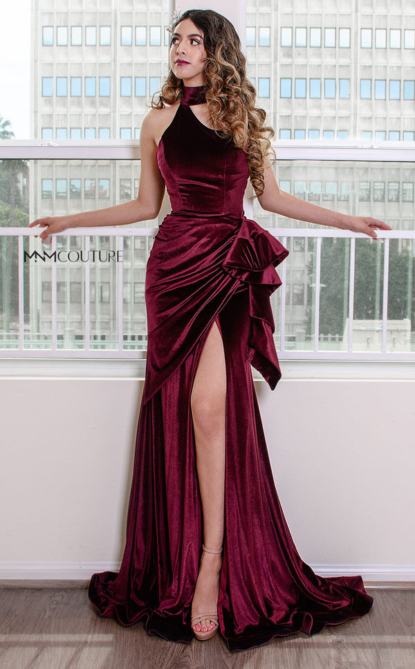 MNM Couture L0038 Burgundy