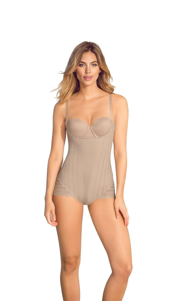 Leonisa 18485 Undetectable Firm Control Bodysuit Shaper