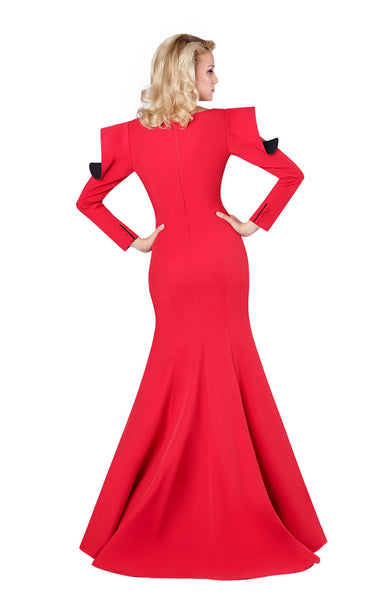MNM Couture M0037 Red