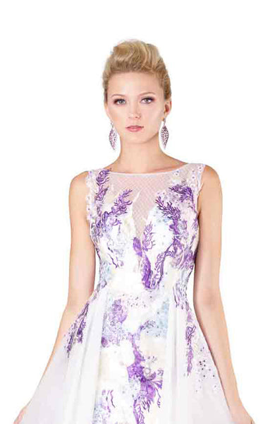 MNM Couture M0058 White-Purple