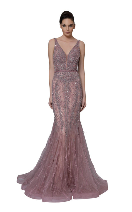 Portia and Scarlett Brocade Gown