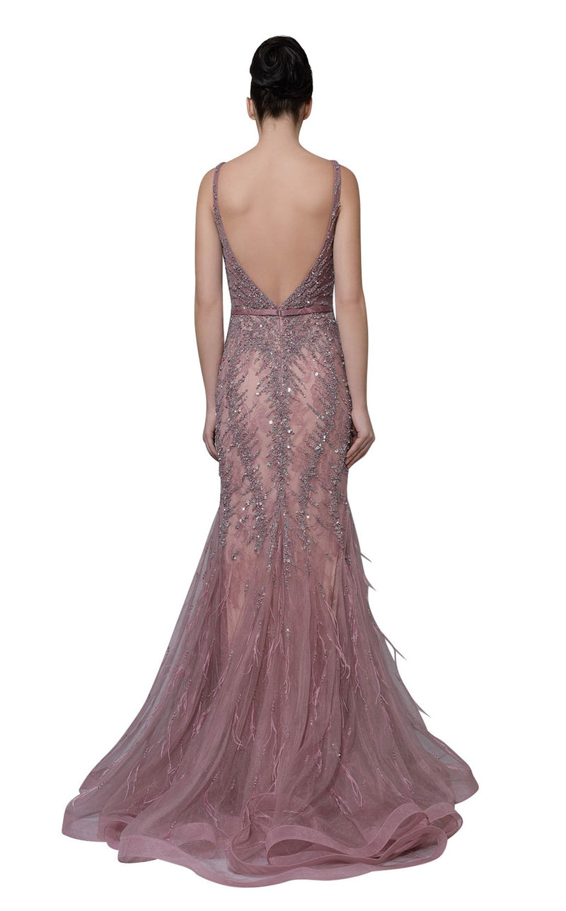 Modessa Couture M18019 Pink