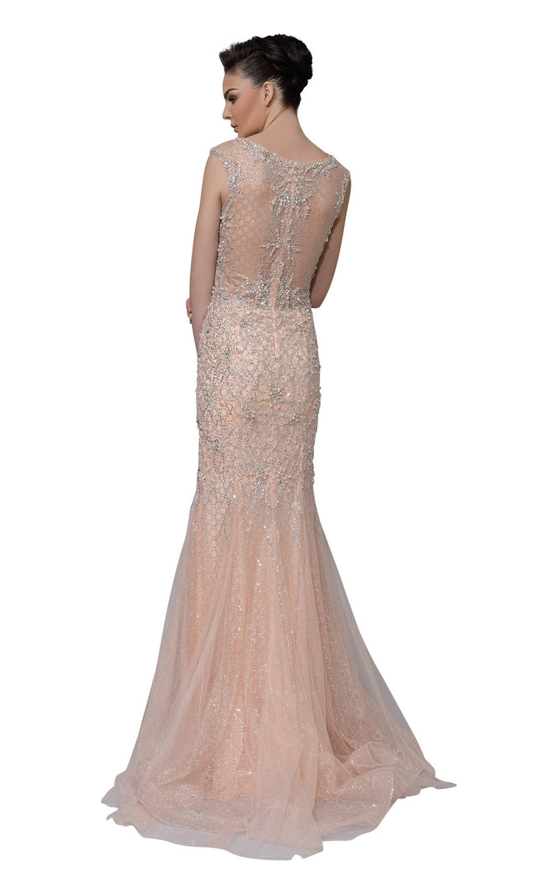 Modessa Couture M18031 Pink