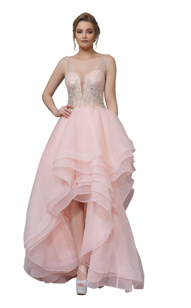 Modessa Couture M18038 Pink