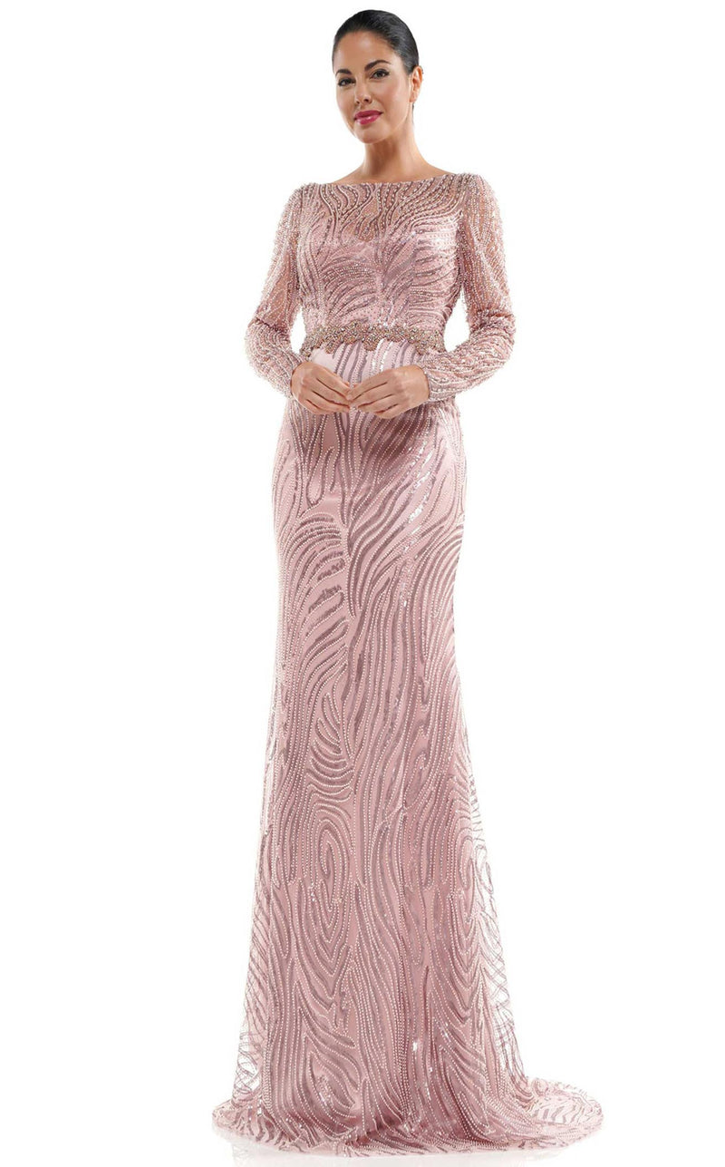 Marsoni MV1027 Dress Mauve