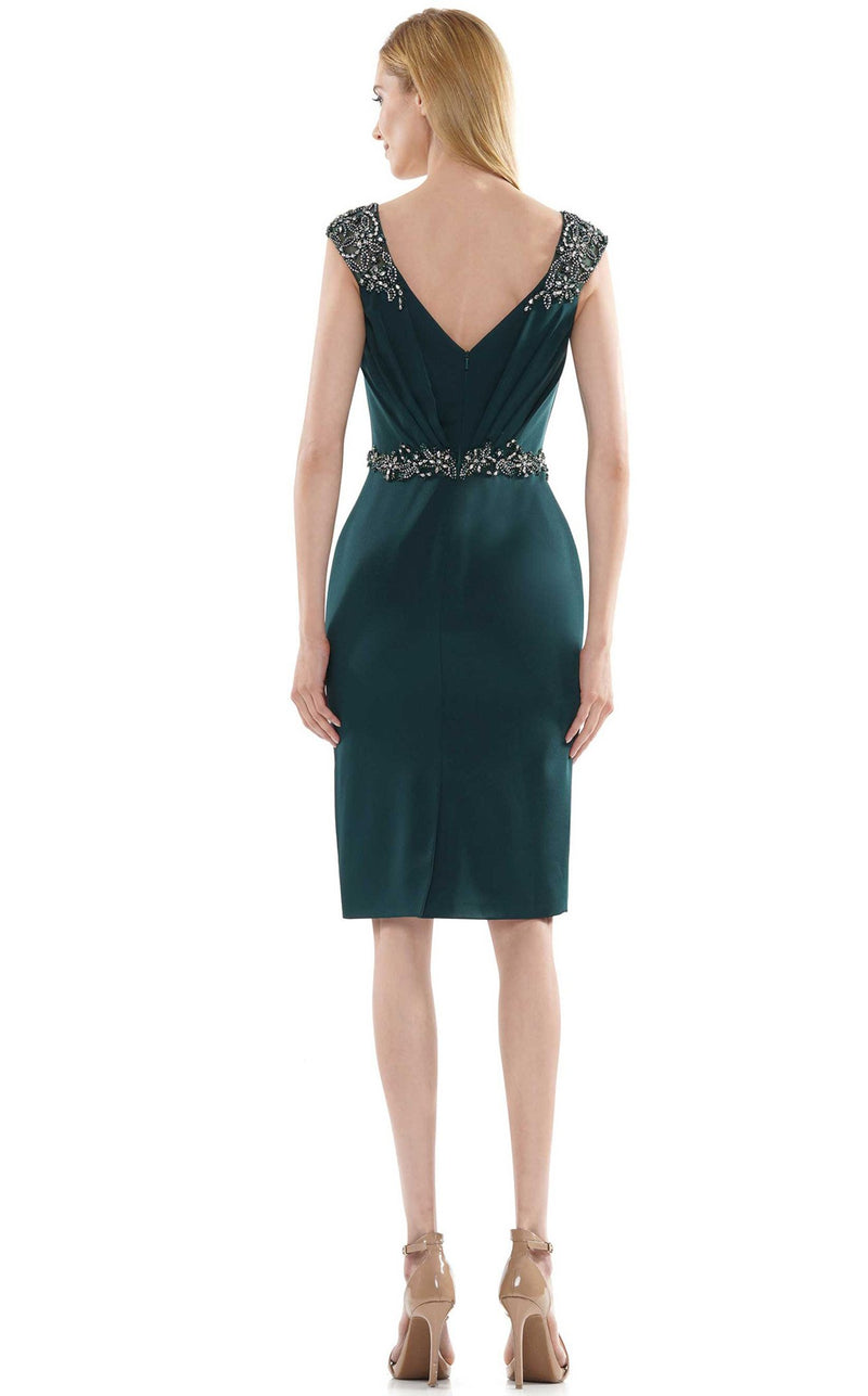 Marsoni MV1107 Dress Forest-Green