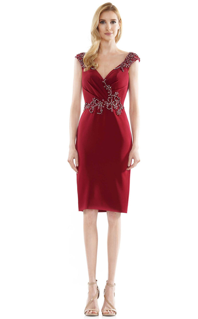 Marsoni MV1107 Dress Wine