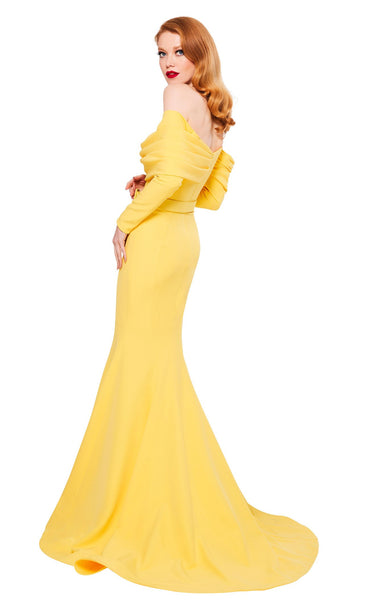 MNM Couture N0324 Yellow