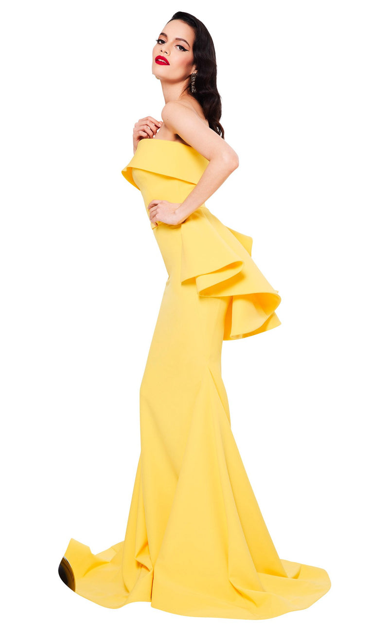 MNM Couture N0325 Yellow