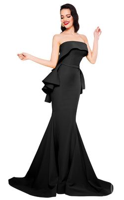 MNM Couture N0325 Black