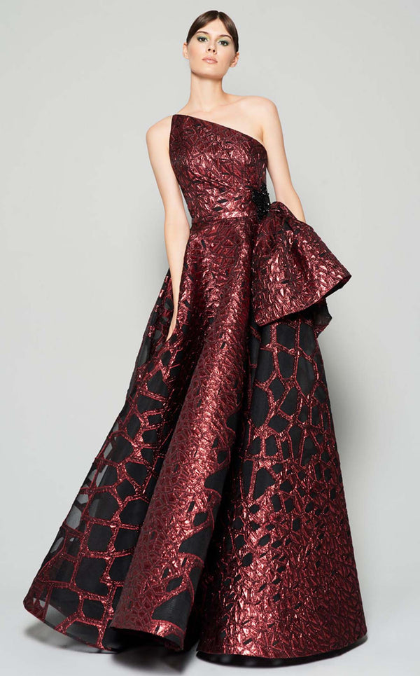 MNM Couture N0388 Dress Burgundy