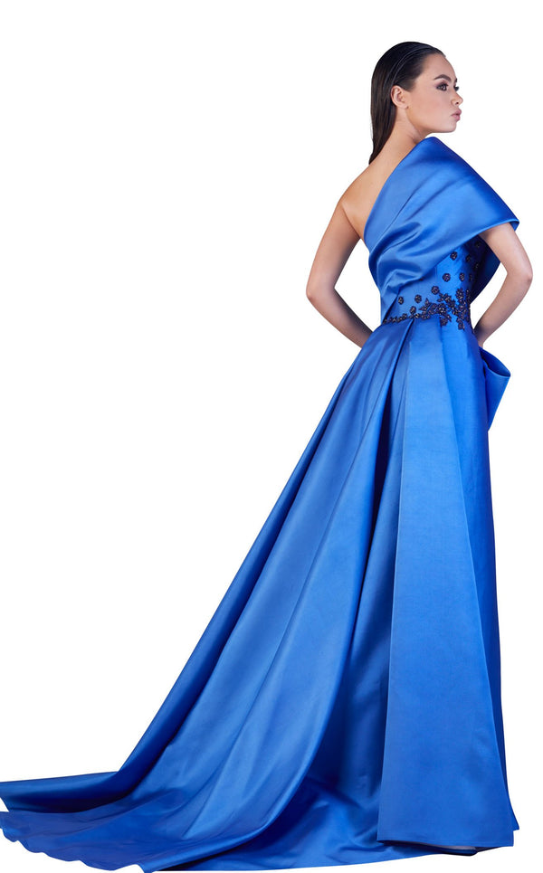 Gatti Nolli Couture OP5085 Dress Blue
