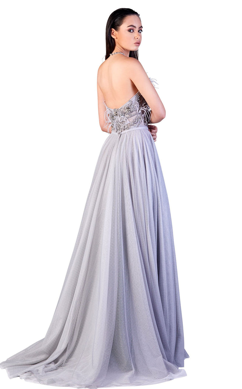 Gatti Nolli Couture OP5155 Dress Grey
