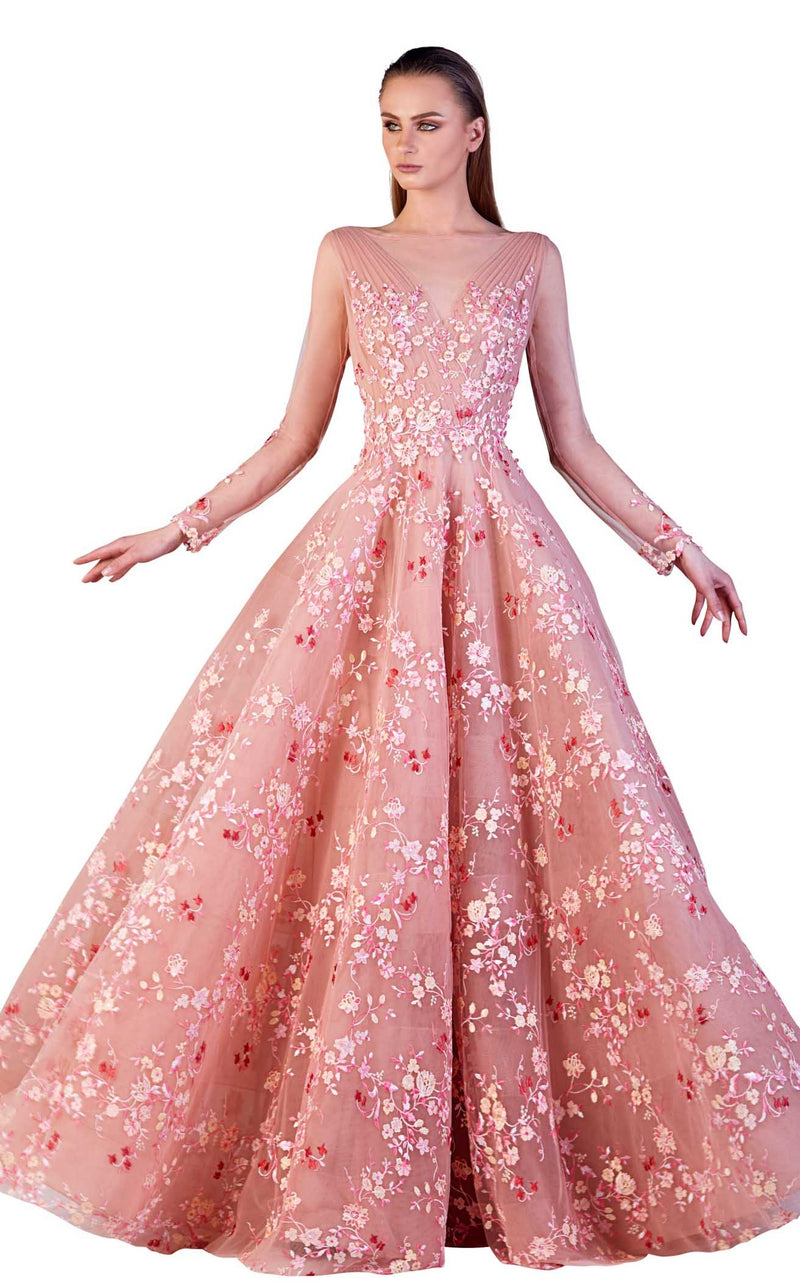 Gatti Nolli Couture OP5156 Dress Pink
