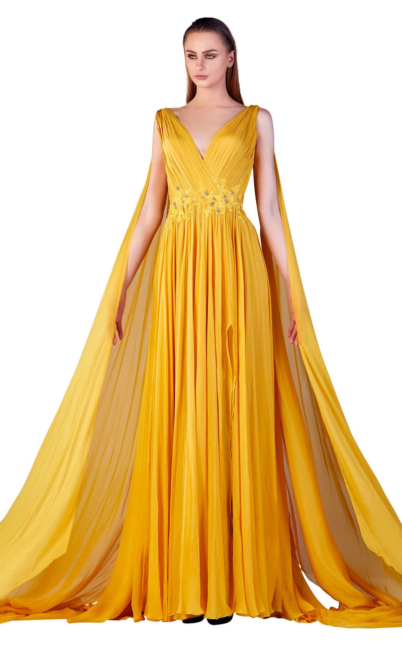 Gatti Nolli Couture OP5168 Dress Yellow