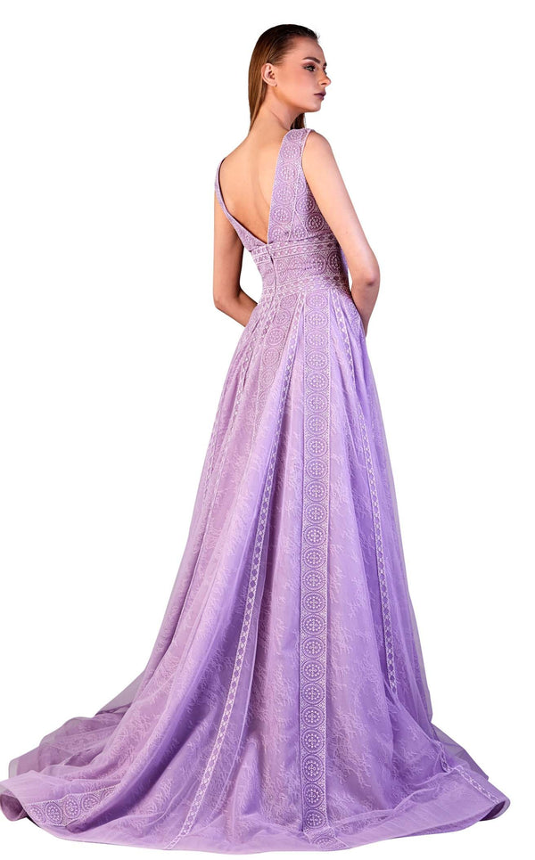 Gatti Nolli Couture OP5171 Dress Lilac
