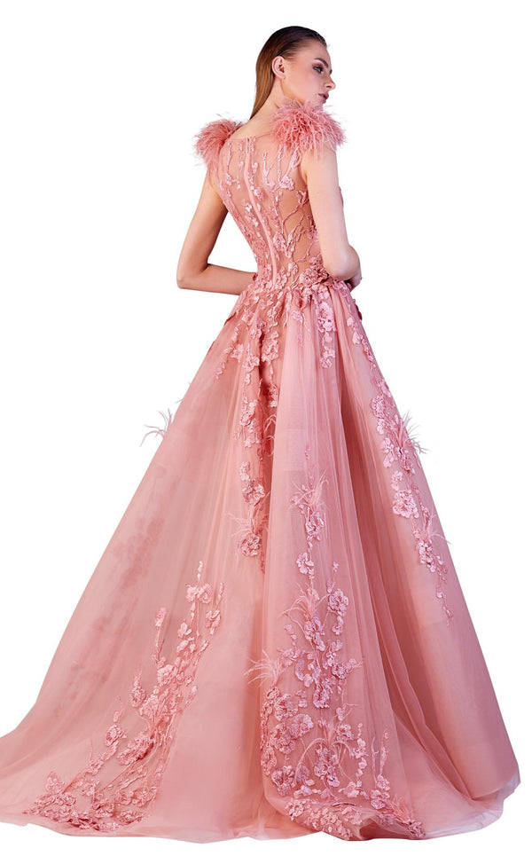 Gatti Nolli Couture OP5183 Dress Blush