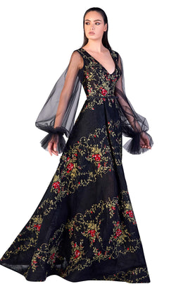 Gatti Nolli Couture OP5184 Dress Black