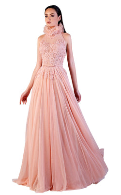 Gatti Nolli Couture OP5202 Dress Blush