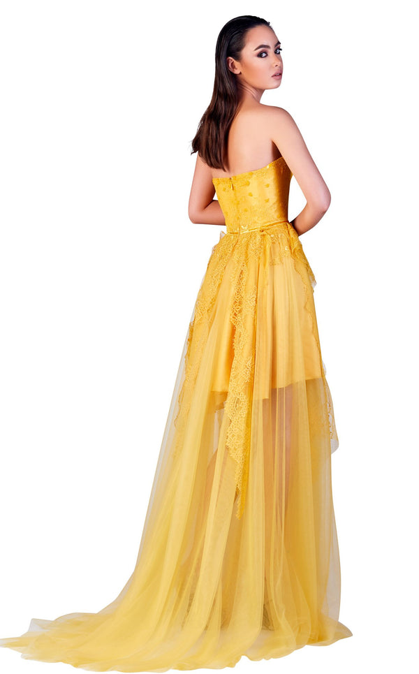Gatti Nolli Couture OP5504 Dress Yellow