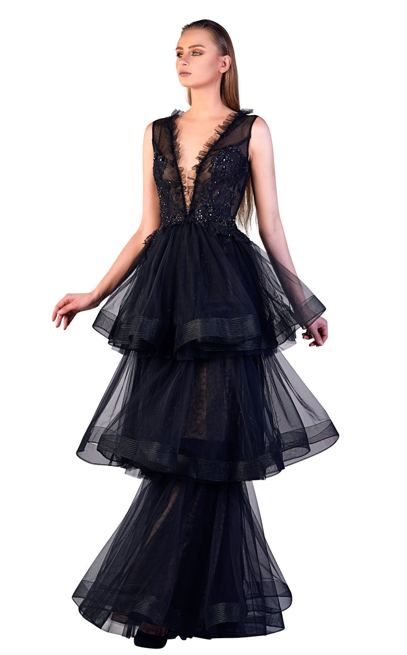 Gatti Nolli Couture OP5505 Dress Black