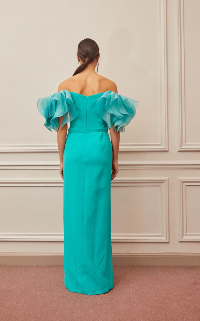 Gatti Nolli Couture OP5327 Dress Aqua