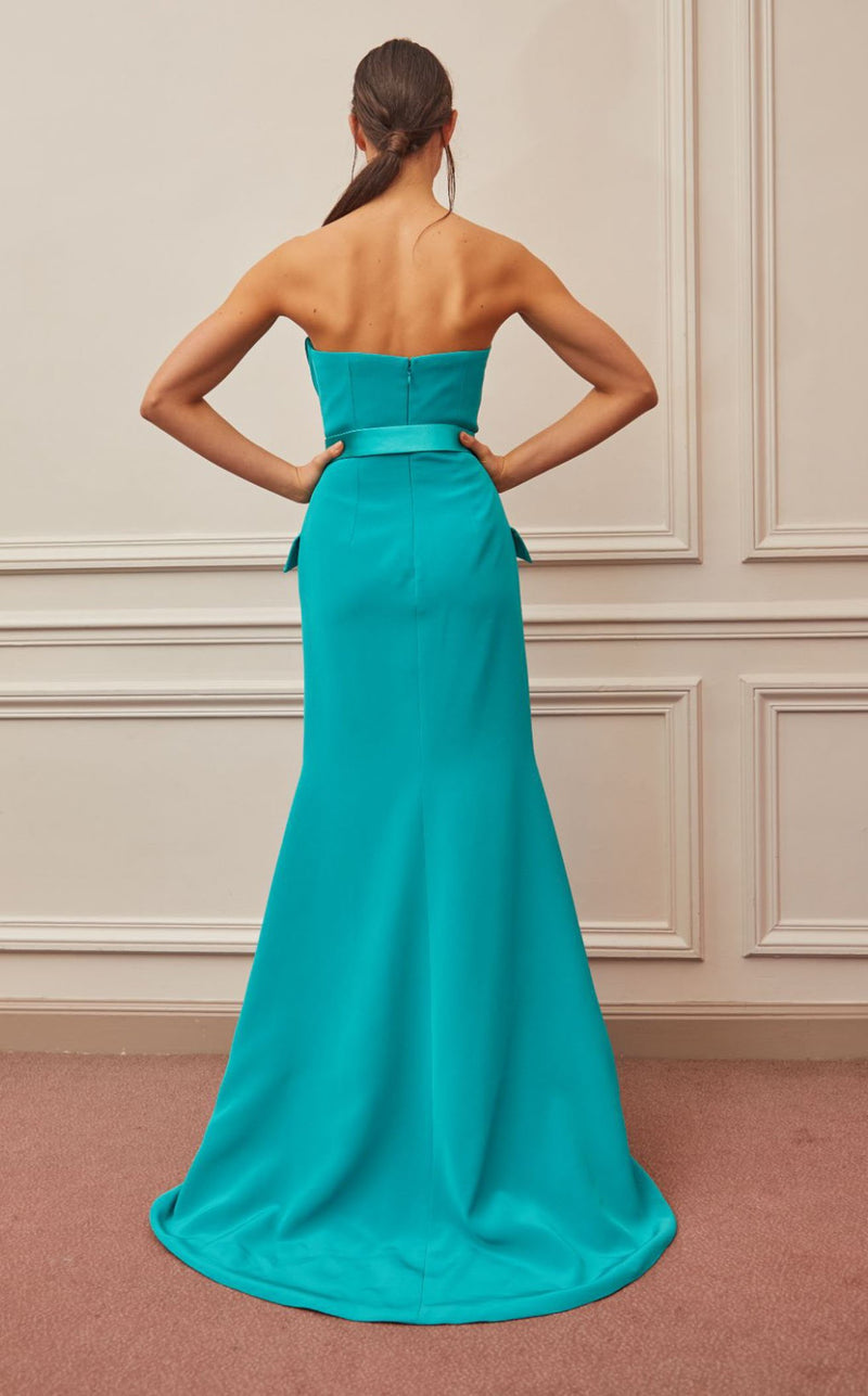 Gatti Nolli Couture OP5333 Dress Aqua