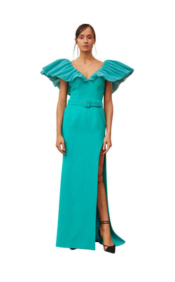 Gatti Nolli Couture OP5336 Dress Aqua