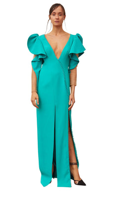 Gatti Nolli Couture OP5340 Dress Aqua