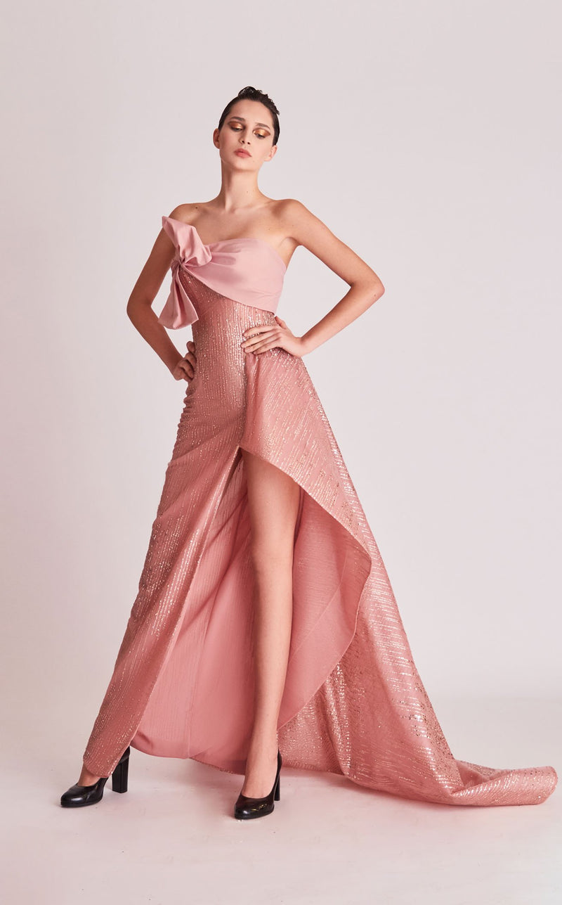 Gatti Nolli Couture OP5738 Dress Rose-Gold