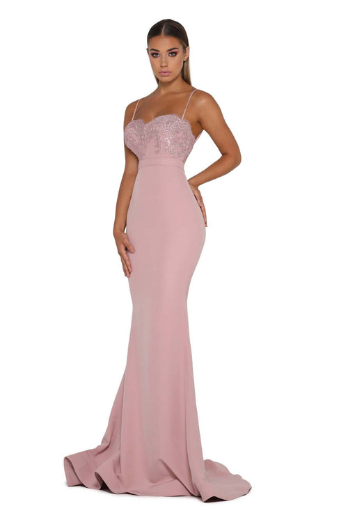 Portia and Scarlett Briar Rose Gown No Lace Train
