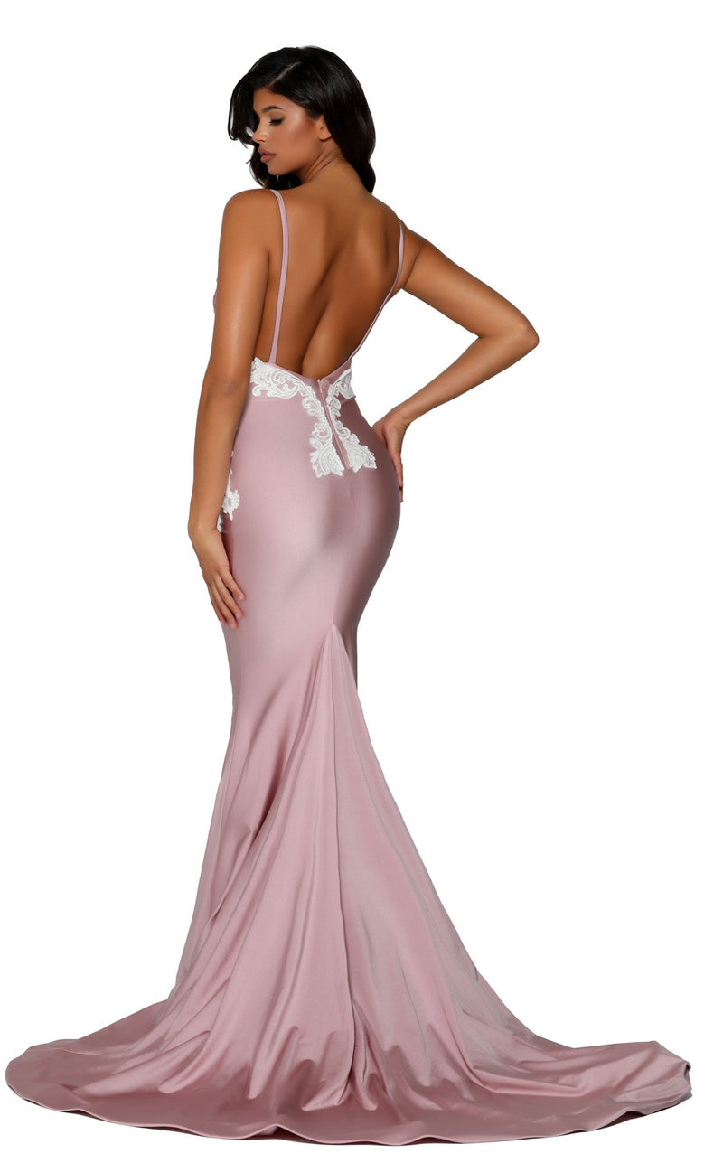 Portia and Scarlett PS6303 Mauve-Ivory