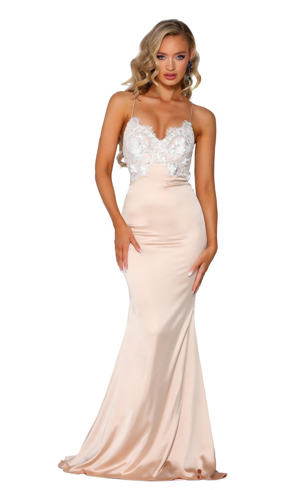 Portia and Scarlett PS6304 Champagne-Ivory