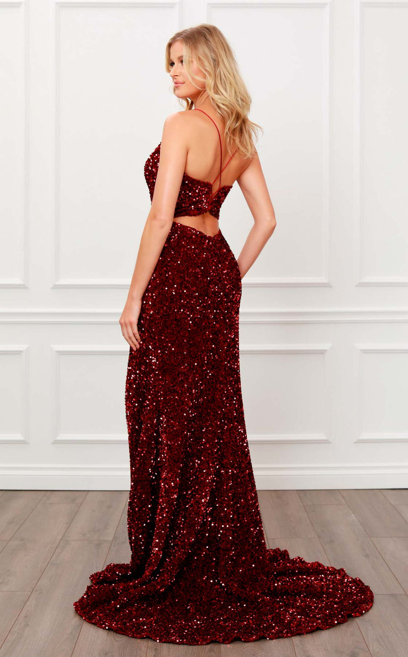 Nox Anabel R433 Dress Burgundy