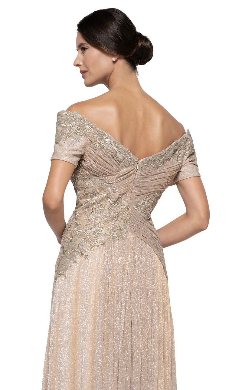 Rina Di Montella RD2674 Dress Gold