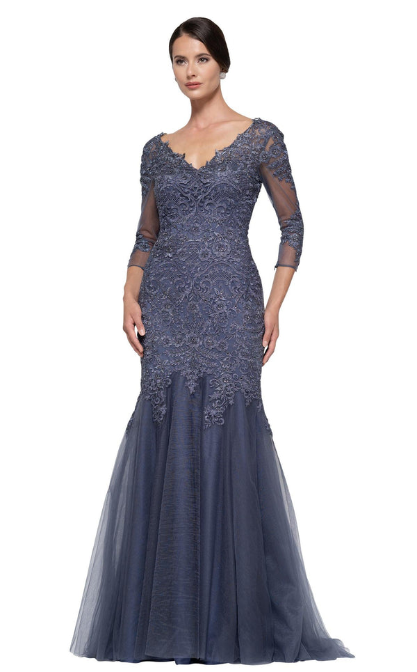 Rina Di Montella RD2682 Dress Slate-Blue
