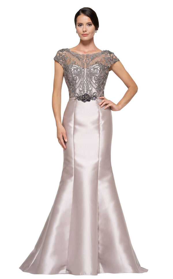 Rina Di Montella RD2684 Dress Taupe