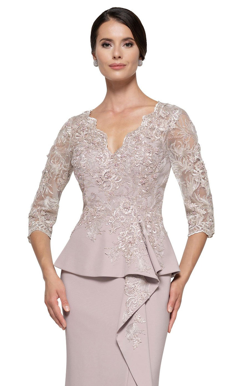 Rina Di Montella RD2685 Dress Taupe