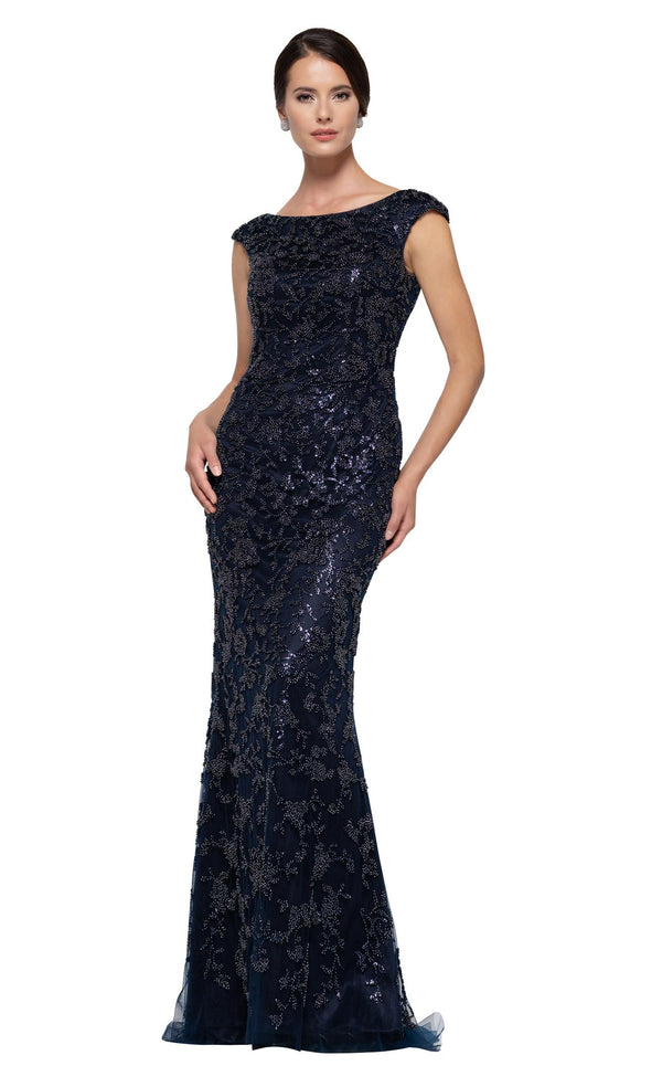 Rina Di Montella RD2698 Dress Navy