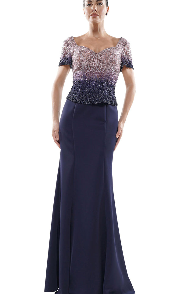 Rina Di Montella RD2700 Dress Navy